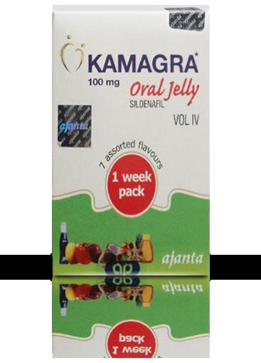 Kamagra Gel Oral Jelly Vol. 4