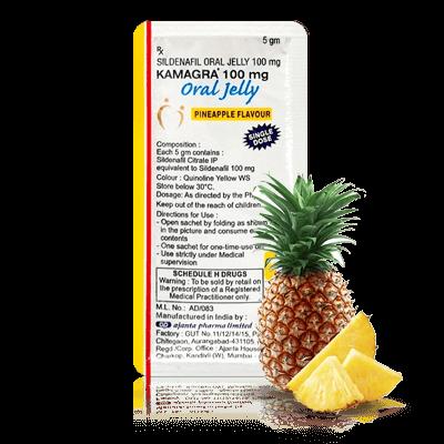 Kamagra gel 1 - Ananas